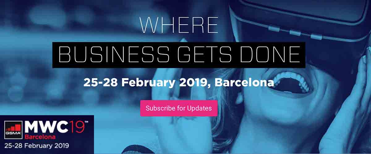 Mobile World Congress 2019 Barcelona